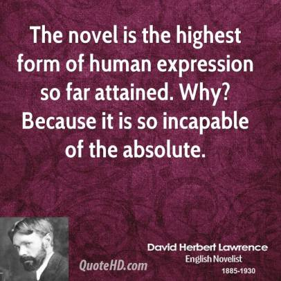 david-herbert-lawrence-writer-the-novel-is-the-highest-form-of-human