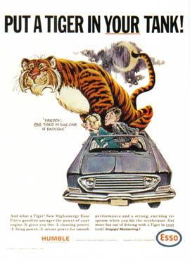 Slogan Esso Tiger Ad